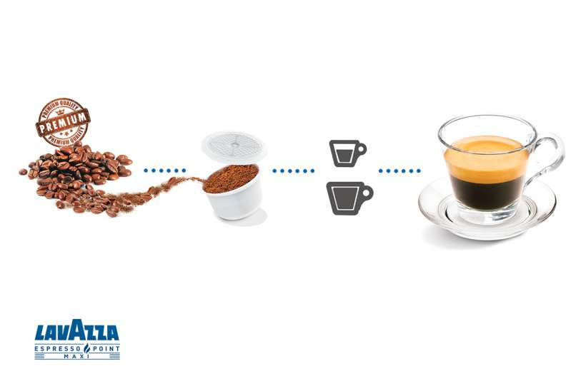 lavazza blue coffee pods how to make it work