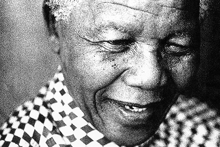 Nelson Mandela © Nicci Theron - use of this image is prohibited