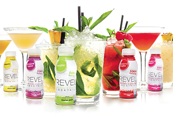 revel cocktails 100% natural cocktail mixers